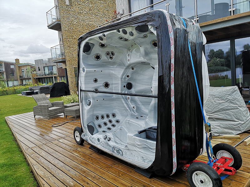 Hot Tub Relocation
